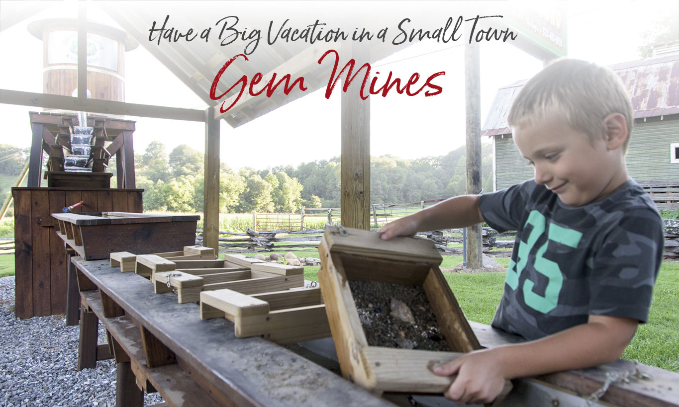 Gem Mining Affordable Family Fun Near Bryson City NC - Great Smokies
