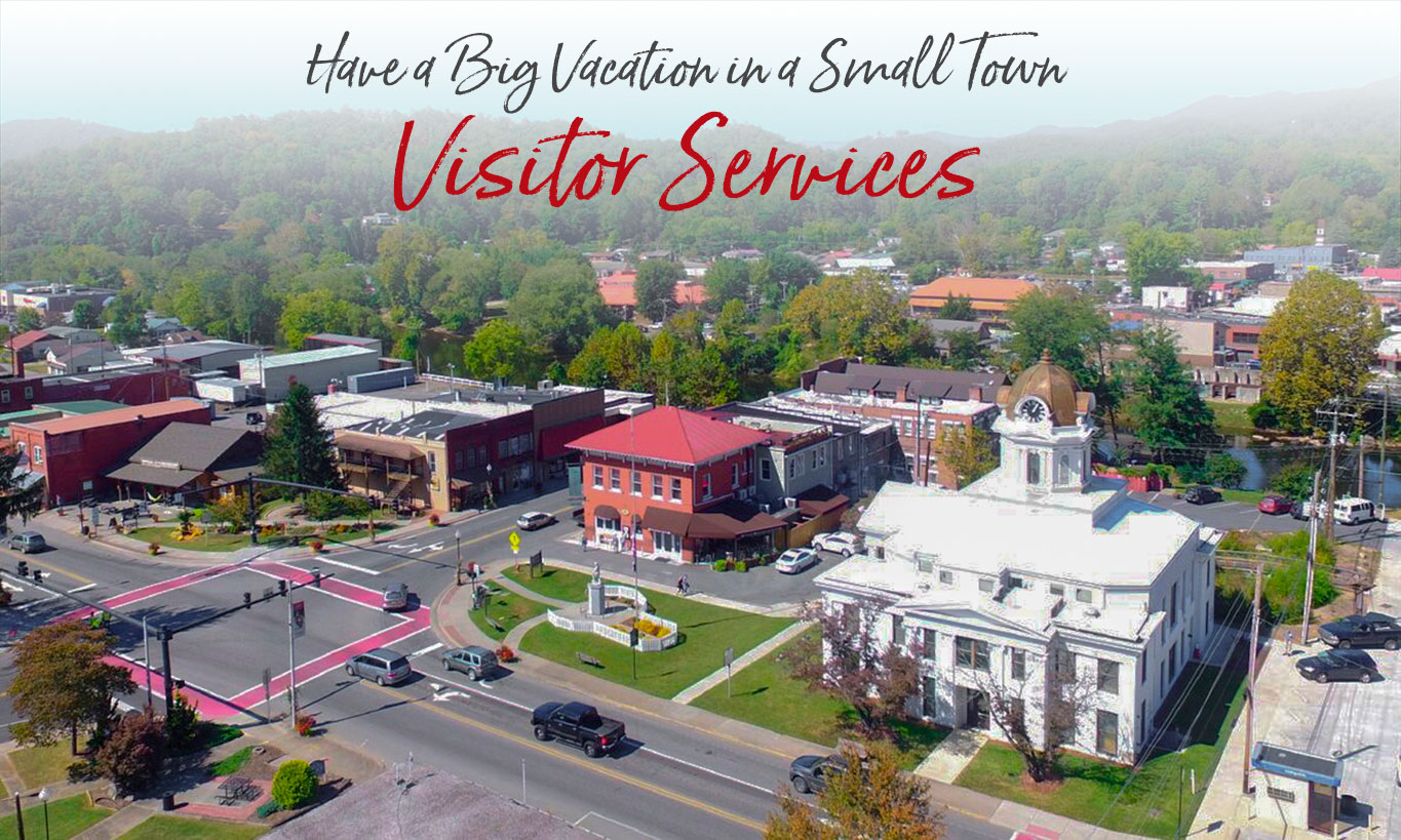 Bryson City Visitor Services Wifi Movies Liquor Store Atms
