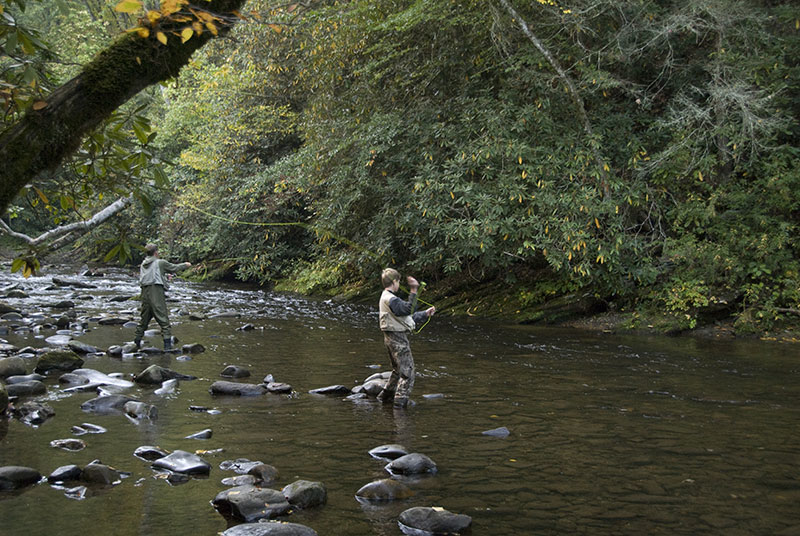 Fishing Deep Creek Indian