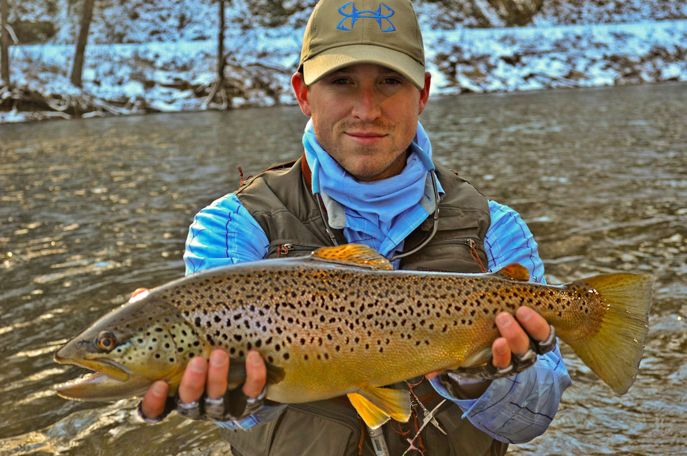 The Sublime Pleasure of Winter Trout Fishing