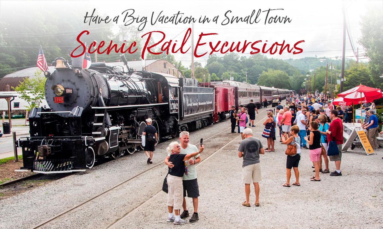 Scenic Train Rides Bryson City NC - Polar Express - Steam excursions