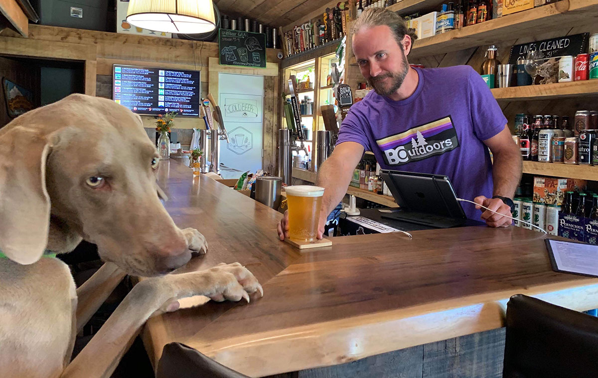 Where to Drink Beer with Your Dog in Bryson City