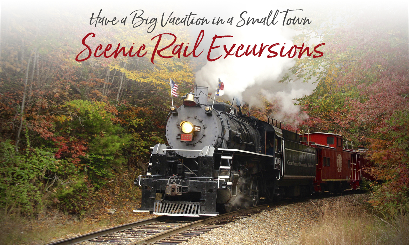 Scenic Train Rides Bryson City Nc Polar Express Steam Excursions