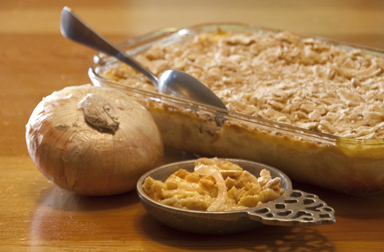 Onion pie casserole