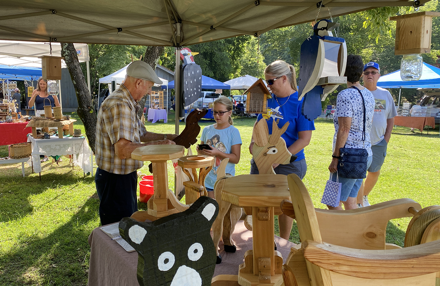 handmade toys and furniture